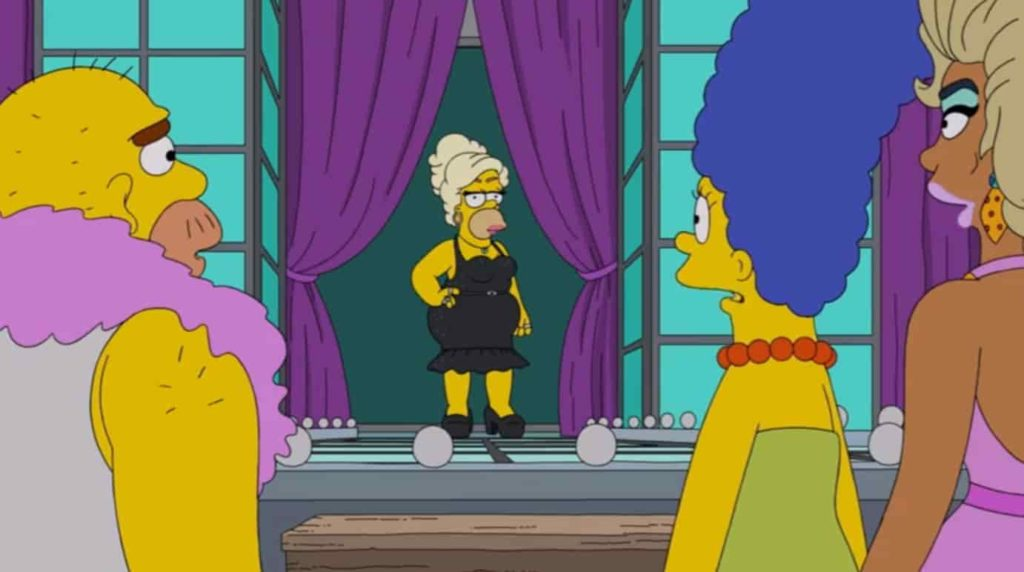 Marge Y Homero Se Convierten En Drag Queens Junto A Rupaul