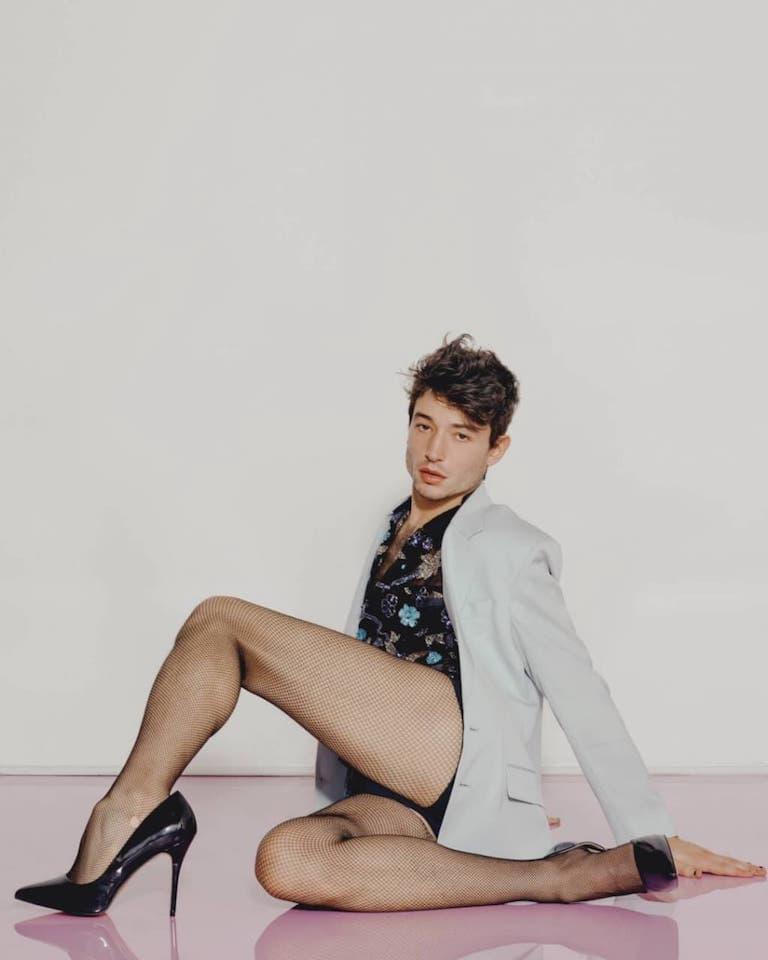 Ezra Miller PlayBoy Gay LGBT